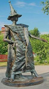 Памятник шоколаду в Покрове