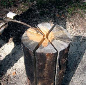 Костёр Индейская свеча