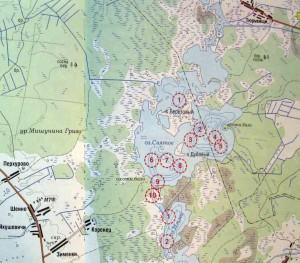 Карта святого озера