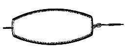 Плоское донное грузило